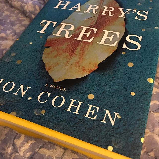 About half way through #Harry'sTrees for #mmdbookclub - love all the factoids about trees #whatimreading #booknerd
