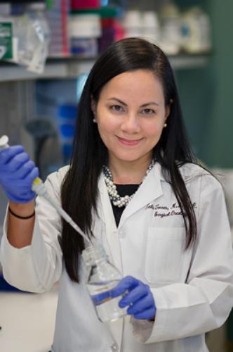 Dr. Keila Torres, M.D. Ph.D, Principal Investigator Soft-Tissue Sarcoma.
