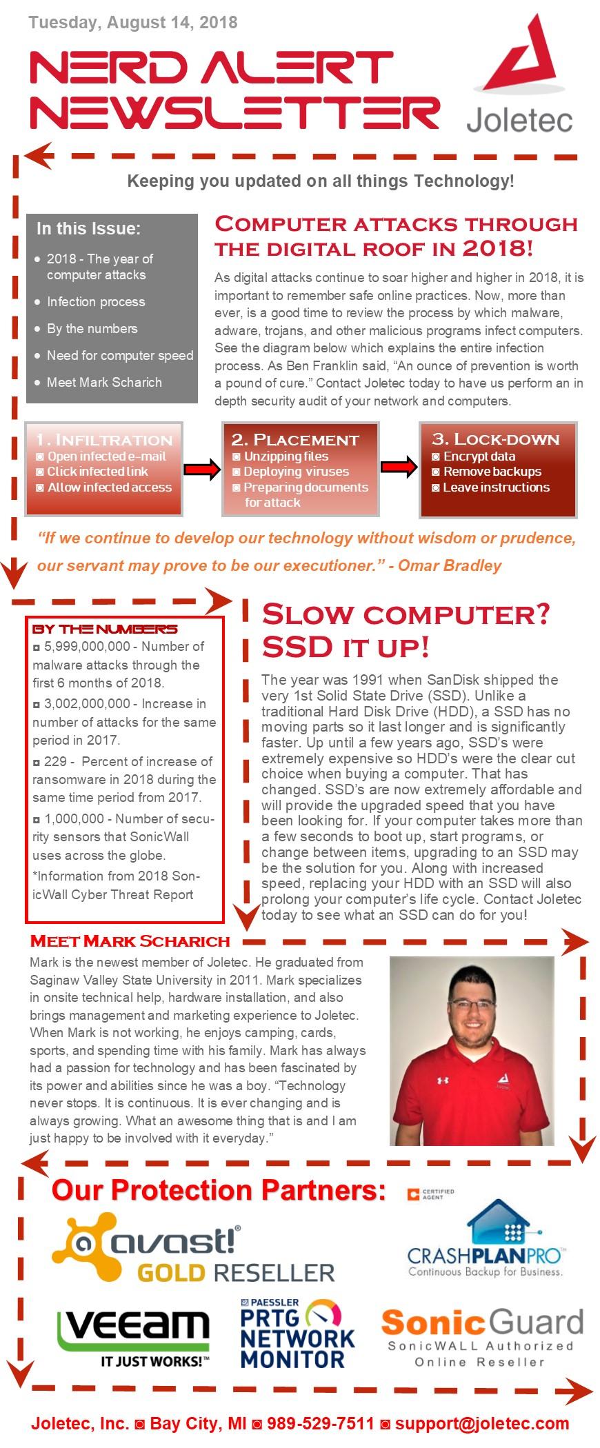 Nerd Alert Newsletter 8-14-18