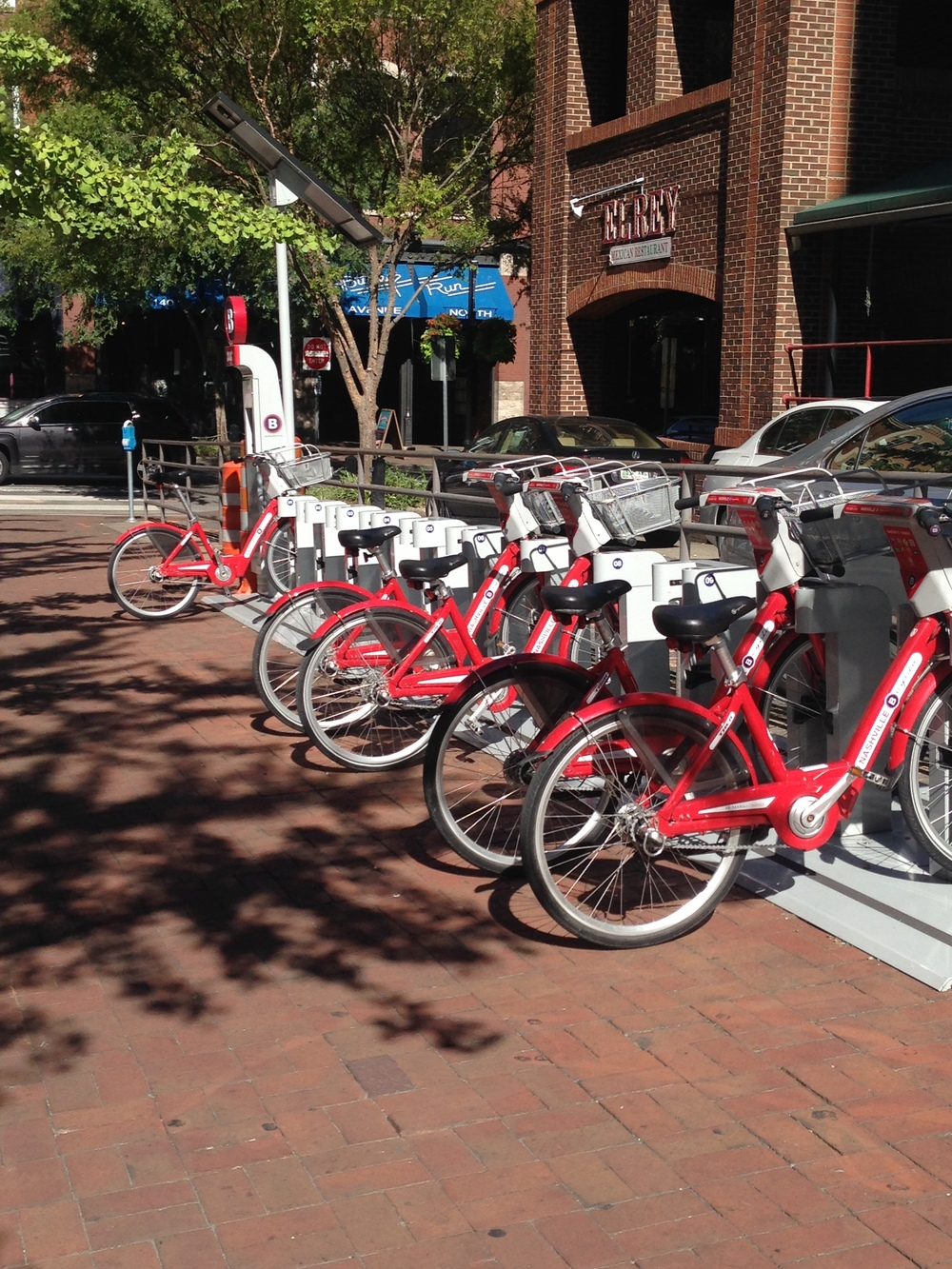 Nashville's bike share is one way the city is working to provide more transportation options.