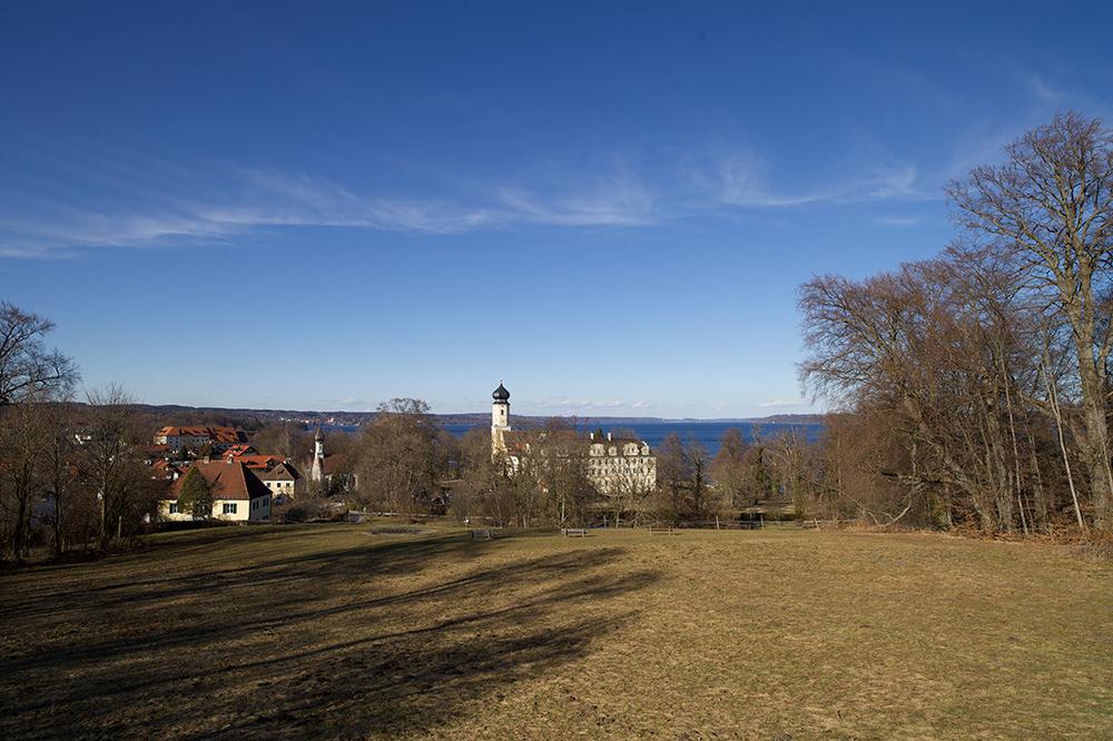 kloster bernried von park