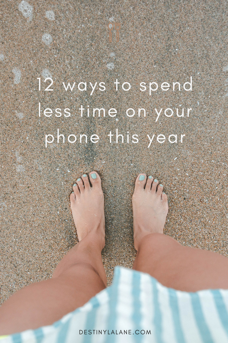 Twelve ways to create better habits and spend less time on your phone in 2017.
