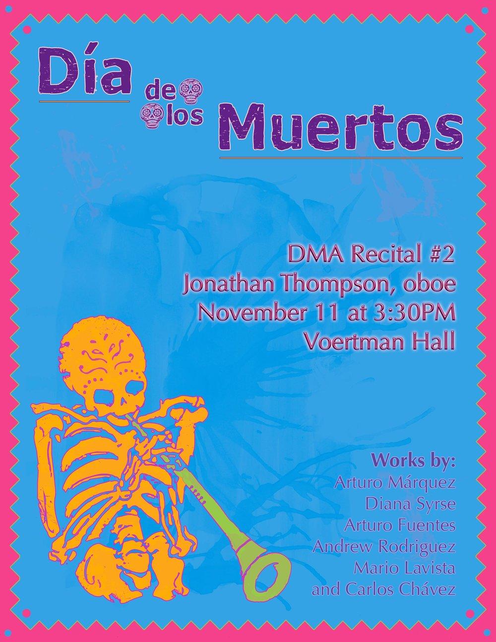 DMA Recital #2: Día de los Muertos