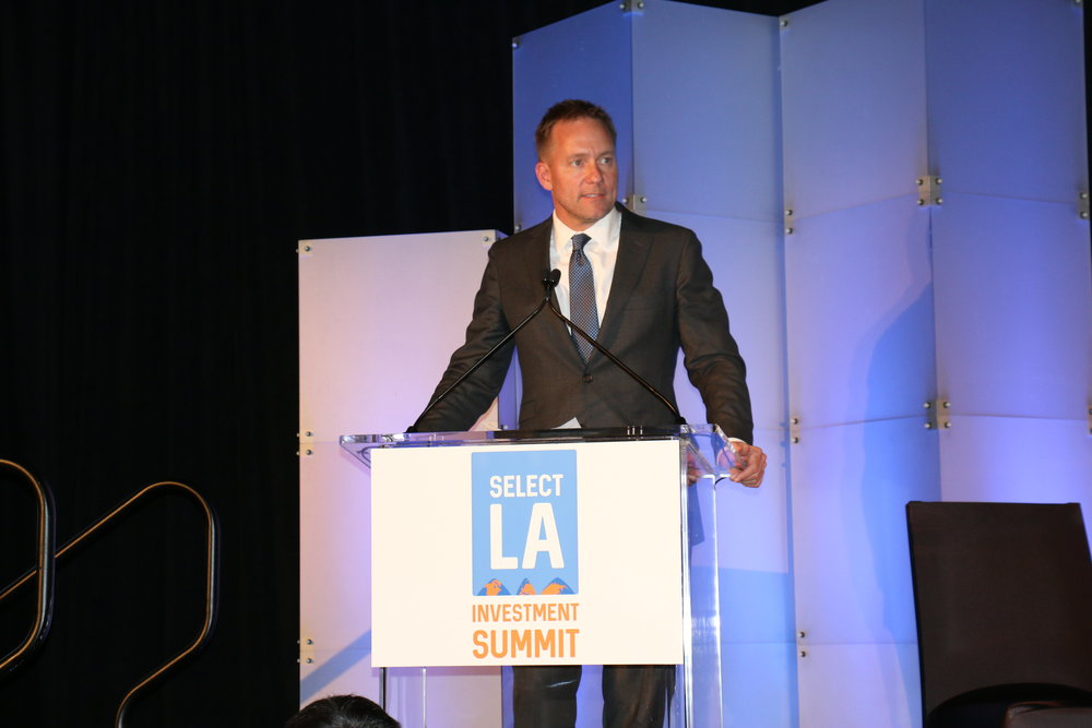 World Trade Center Los Angeles Chair Steve Olson