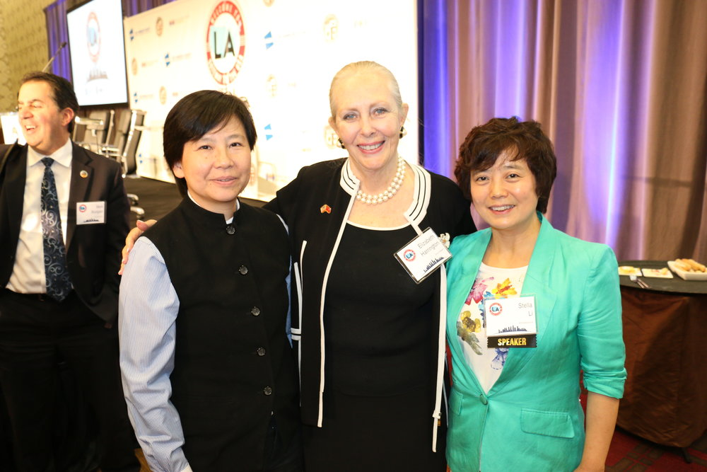I Fei Chang, Elizabeth Harrington, Stella Li