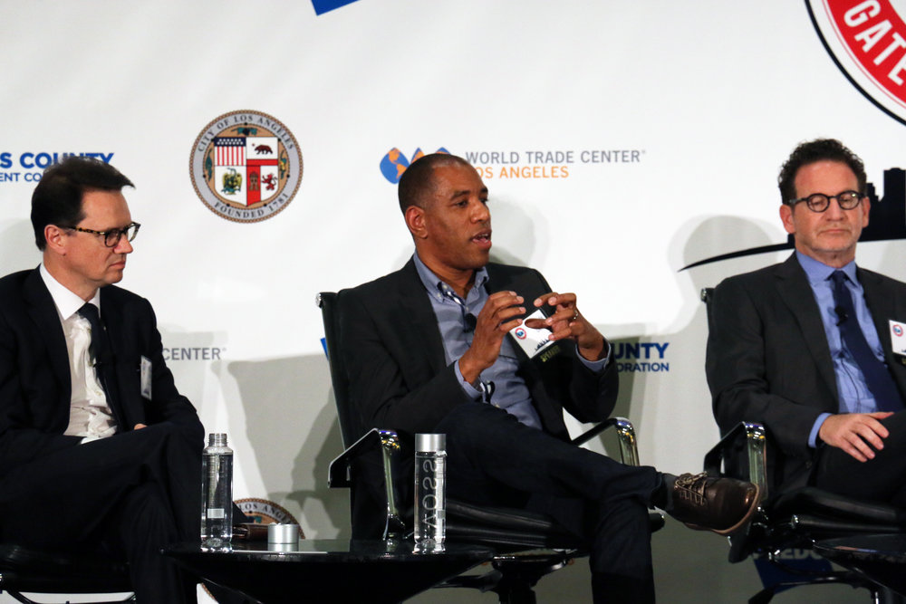 Entertainment & Technology Panel: CEO Peter Rice, Malik Ducard, Larry Kurweil
