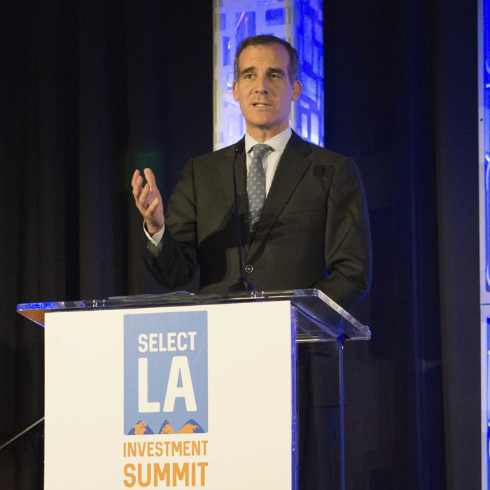 ERIC GARCETTI : Mayor of Los Angeles