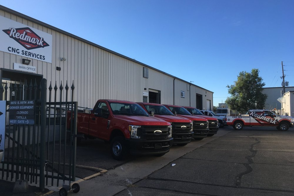 New Ford MY 2017 Vehicles, upfit under the Ford QVM Program at Redmark CNG; ready for delivery to the customer through Spradley Barr Ford for Gunnison.