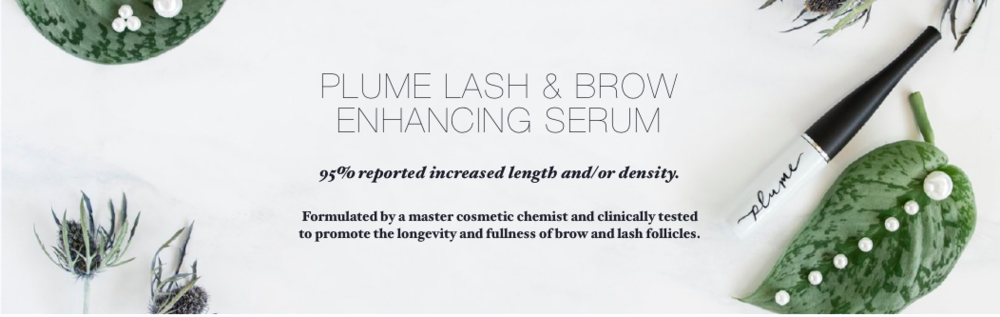 Lash & Brow Enhancing Serum - There are a ton of lash growth products on the market today, but most of them are packed with toxic/harsh ingredients. When dealing with our eyes, we should be cautious with what we are applying near them (and sometimes by default into them). Plume Science is the naturally formulated answer to our lash and brow dreams! The founder, Lauren Bilon, created this serum because she was experiencing dangerous side effects (discolored eyelids, burning skin & blurred vision) from a pharmaceutical product she was using. I have been using this serum for about 19 weeks consistently, both in the am and pm. I began using this serum after my lashes were damaged from lash extensions (as much as I loved having them on, they're just not worth it). You can see my before and after picture below- the after picture was taken 3 months after beginning the serum. I plan to snap another picture when I reach my 6th month of using this serum, so be on the look out for that!