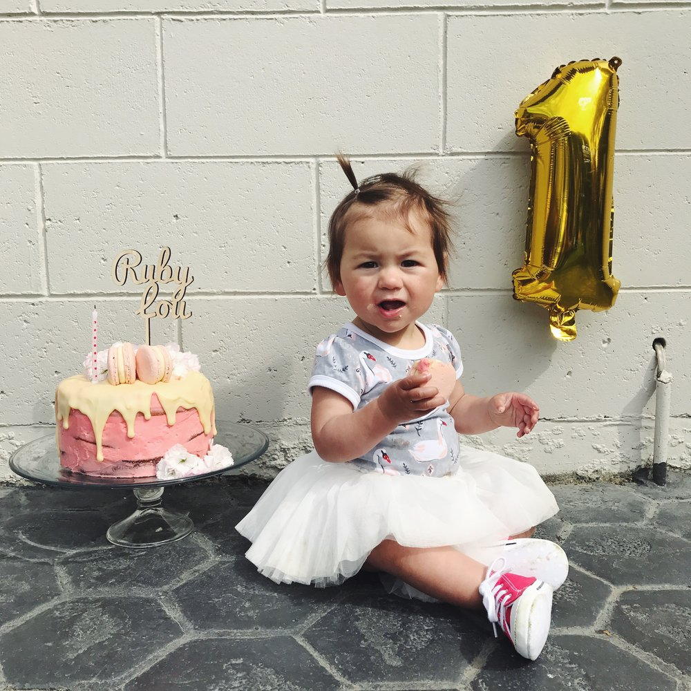 Ruby Lou turns One... read more