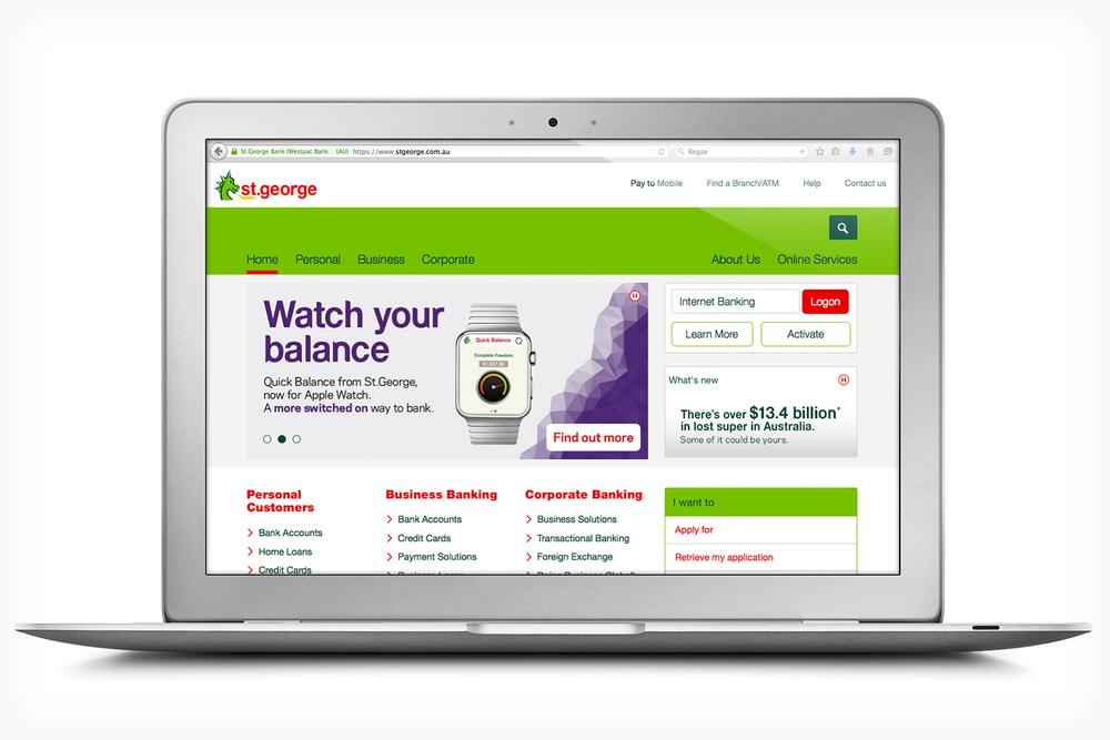 St.George Bank – Apple Watch app — Robin Clay