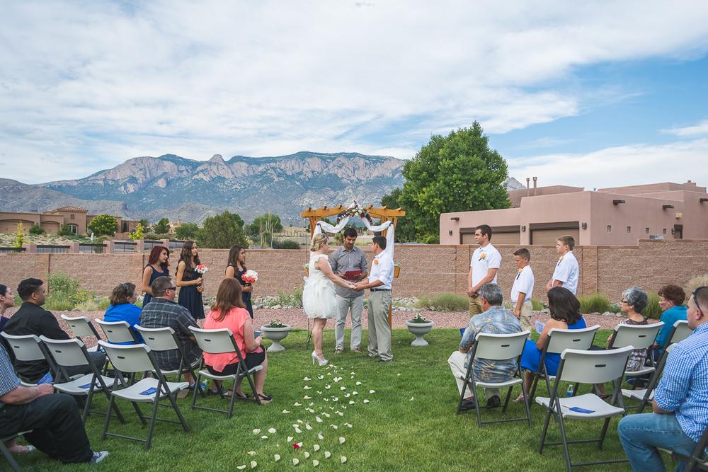 © Nicole Bradshaw Photography 2015; Sam and Joseph's Backyard Wedding- Albuquerque, New Mexico; Albuquerque Wedding Photographer, New Mexico Wedding Photographer, Durango Wedding Photographer, Pagosa Springs Wedding Photographer, Taos Wedding Photographer, Ruidoso Wedding Photographer