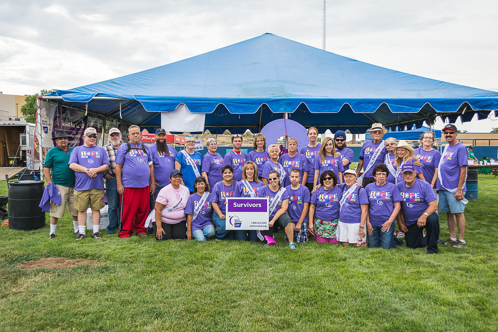 2015 Relay for Life Survivors