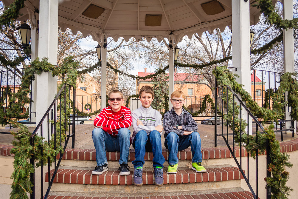 © Nicole Bradshaw Photography 2016; An Old Town Christmas Session in Albuquerque, New Mexico- The Simpson-Parrott Family; Albuquerque Family Photographer, Santa Fe Family Photographer, Rio Rancho Family Photographer, Socorro Family Photographer, Belen Family Photographer, Las Cruces Family Photographer