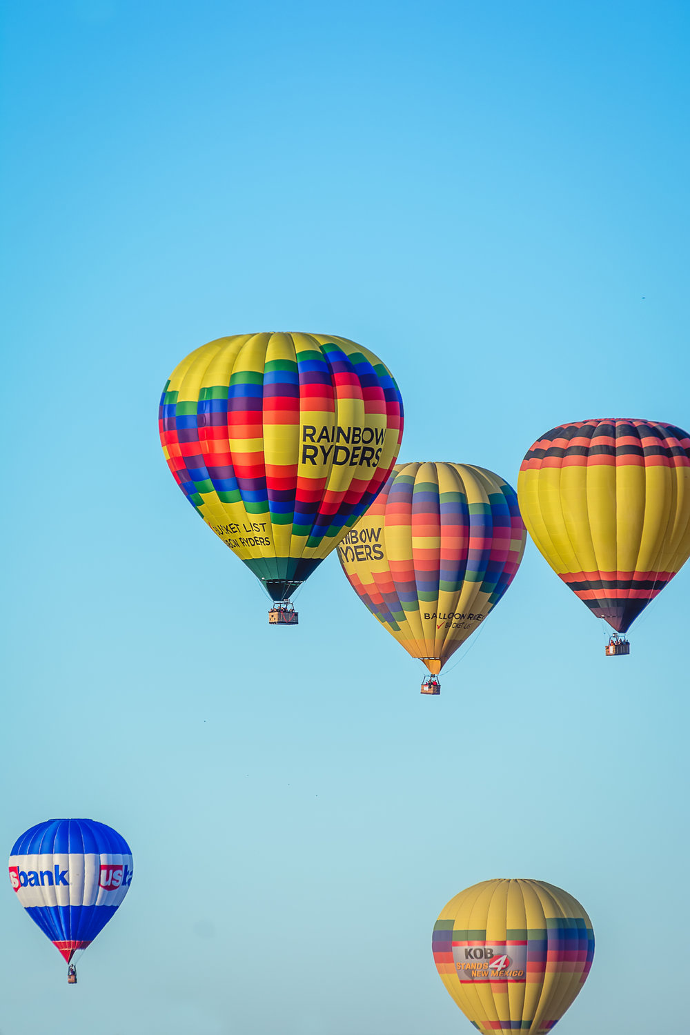 Rainbow Ryders Hot Air Balloon, Hot Air Balloon, Albuquerque Photographer
