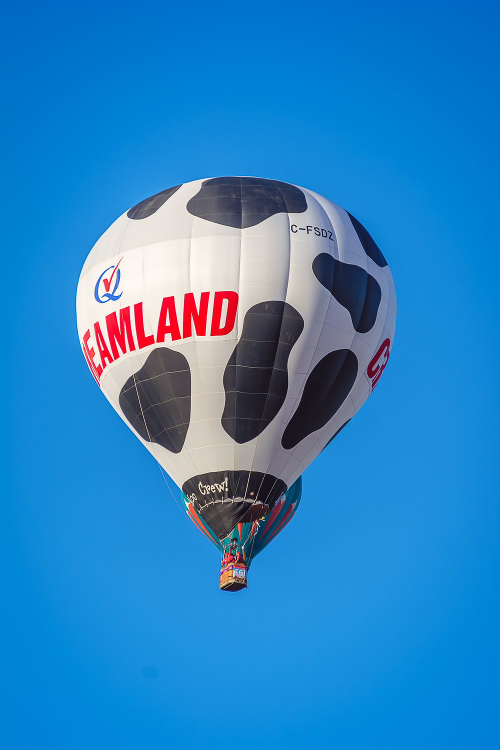 Creamland Dairy, Creamland Dairy Hot Air Balloon, Albuquerque Photographers