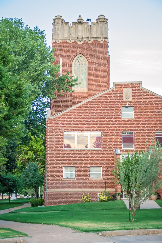 Red Brick Building, Albuquerque Photographer, Albuquerque Wedding Photographer, Traveling Photographer, College Building, Historical Building