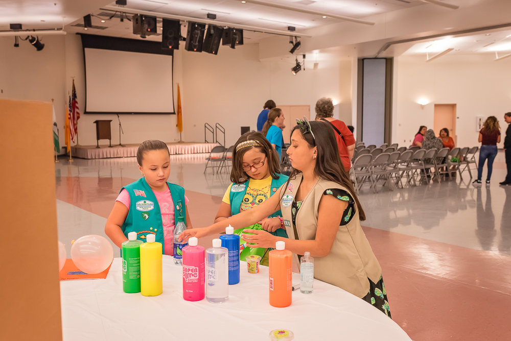 © Nicole Bradshaw Photography 2019; Girl Scout Silver Science Event at UNM-VC; Girl Scouts, STEM, Los Lunas Photographer, Belen Photographer, Albuquerque Photographer, Socorro Photographer, Rio Rancho Photographer, Bosque Farms Photographer, Peralta Photographer