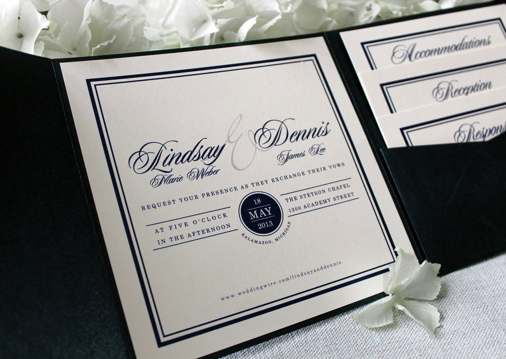 Wedding Invitations — JESSICA REB