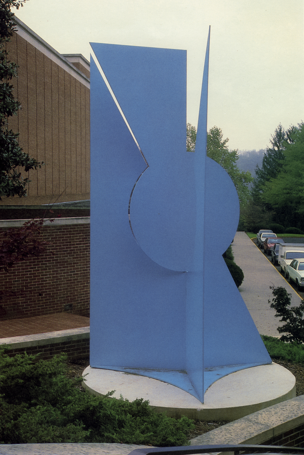 Radford University, Radford, Virginia; 1983.  M.H. XXII.  16'x8'x8'.