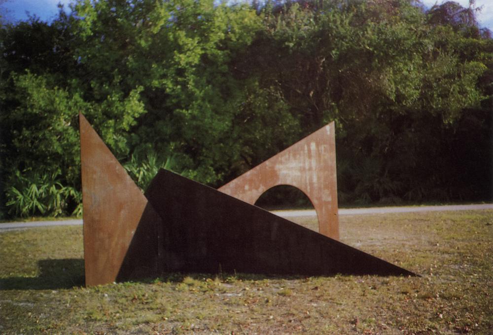 Greynolds Park, Miami, Florida; 1982.  M.H. XI-A.  8' x 16' x 9'.