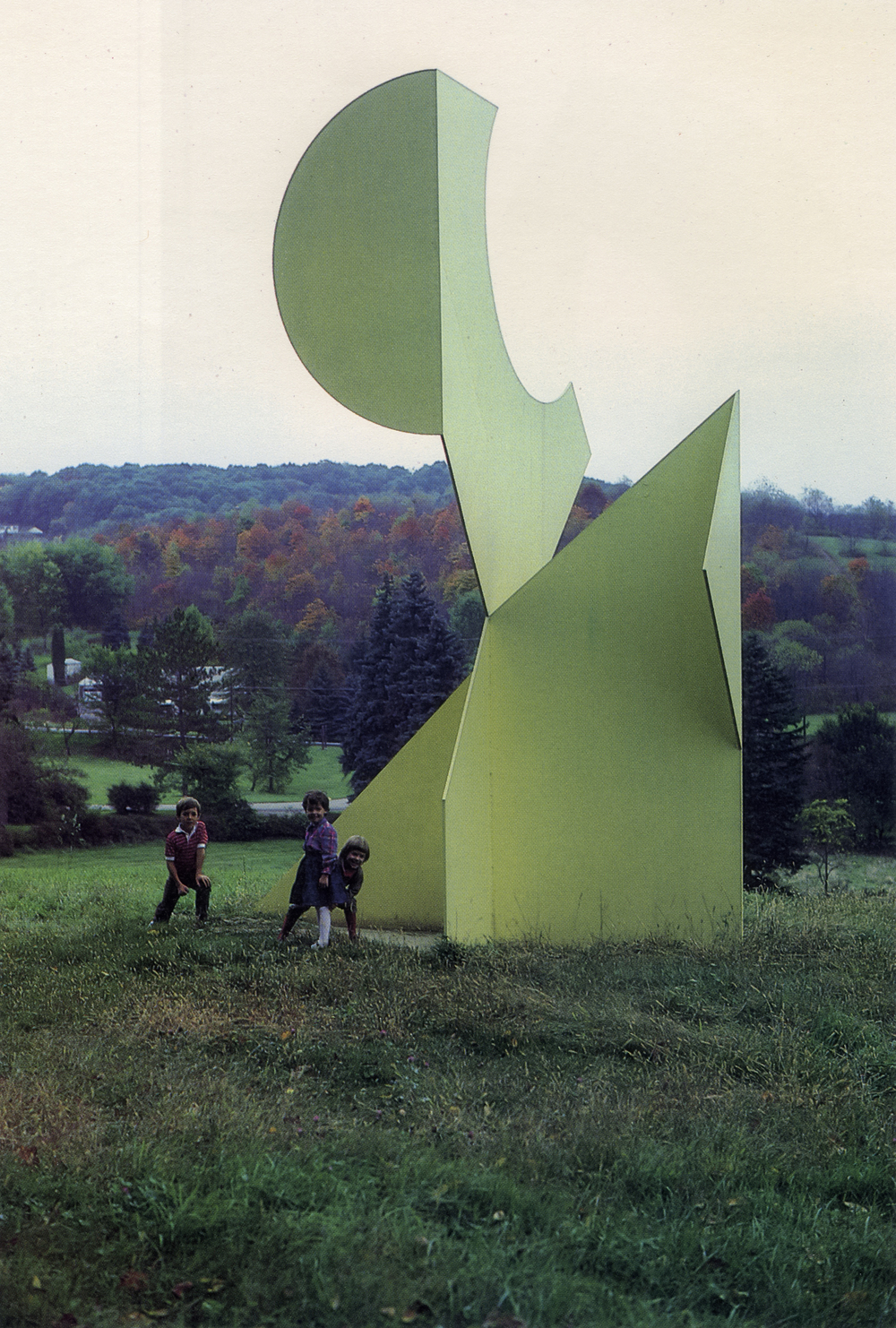 Hartwood Acre Park, Pittsburgh, Pennsylvania; 1980.  M.H. IV.  20' x 13' x 12'.