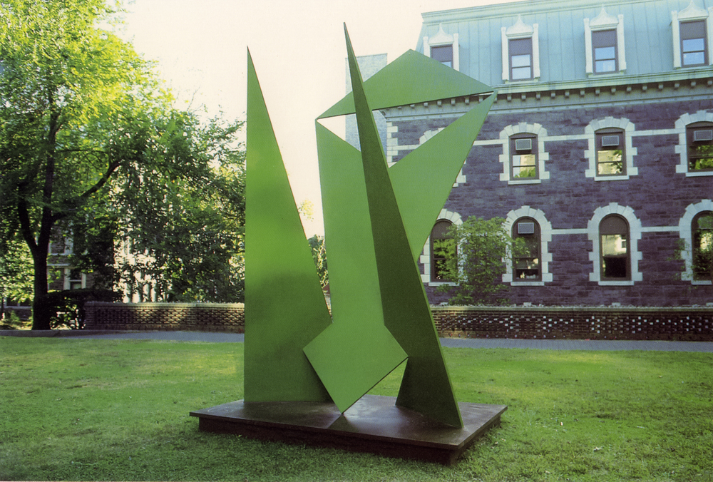 Fordham University, Bronx, New York; 1983.  M.H. XV.  15' x 8' x 6'.