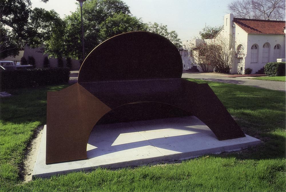 Charles W. Bower Memorial Museum, Santa Ana, California; 1981.  M.H. II.  7.5' x 12' x 8'.