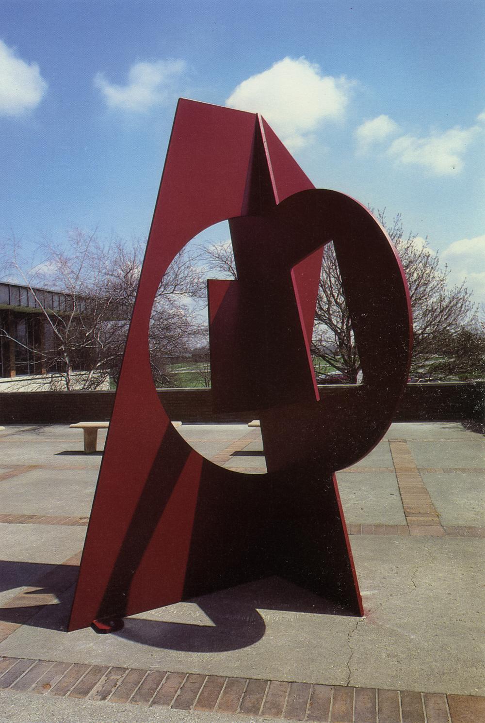 Valparaiso University, Valparaiso, Indiana; 1987.  Kaikoo XV.  11' x 6.5' x 7'.