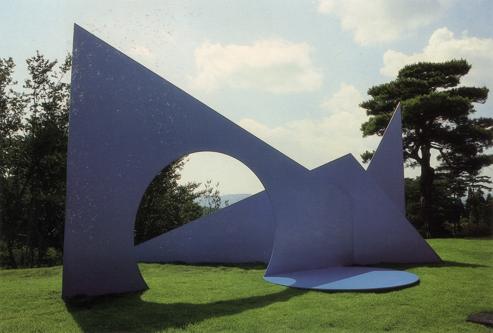 Sayo Golf Club and Sculpture Garden, Sayo, Japan; 1990.  M.H. XI-B.  8' x 16' x 9'.