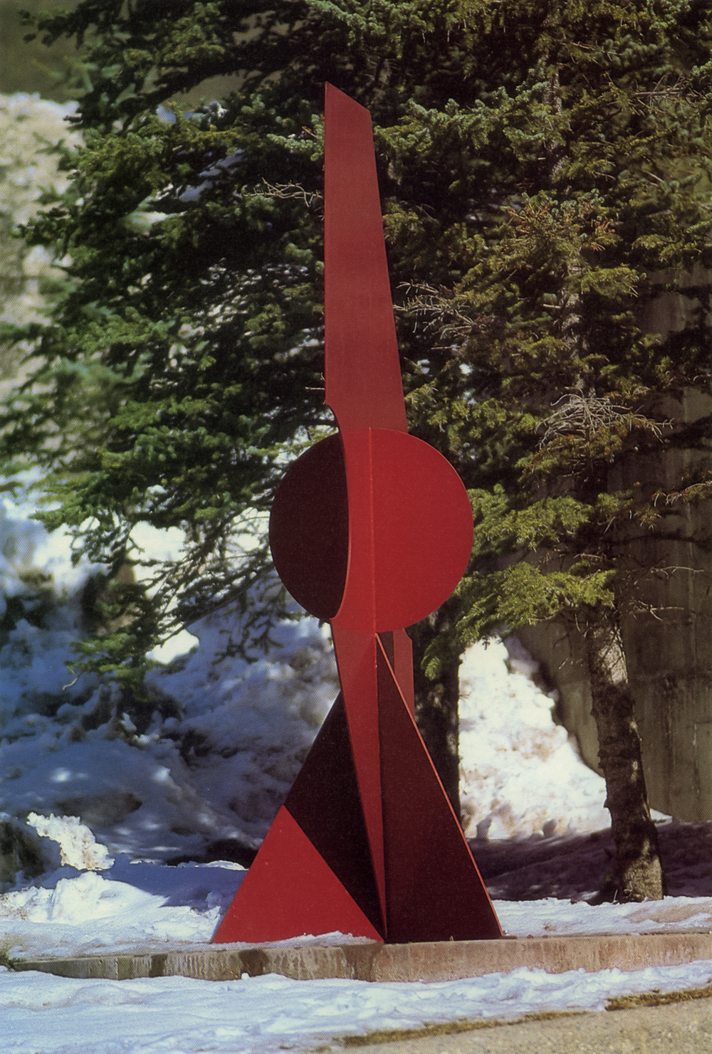 Town of Vail, Vail, Colorado; 1991.  Kaikoo III.  10' x 4' x 5'.