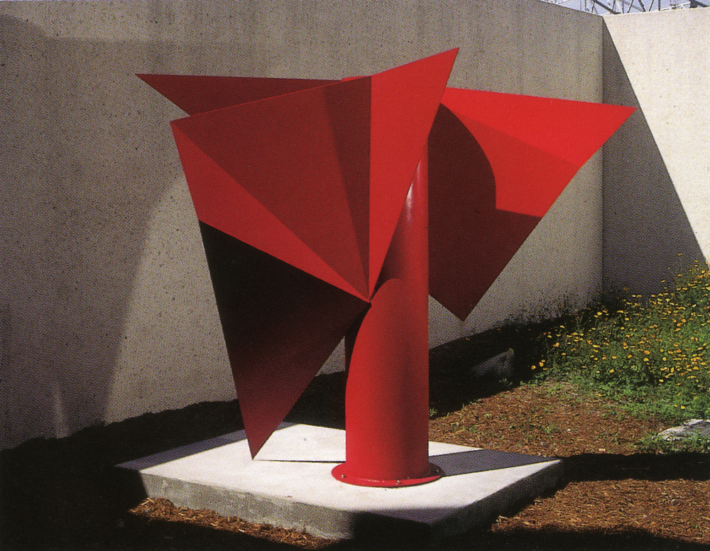 Art Museum of South Texas, Corpus Christi, Texas; 1995.  Atlas IX.  7.5' x 9.5' x 5'.
