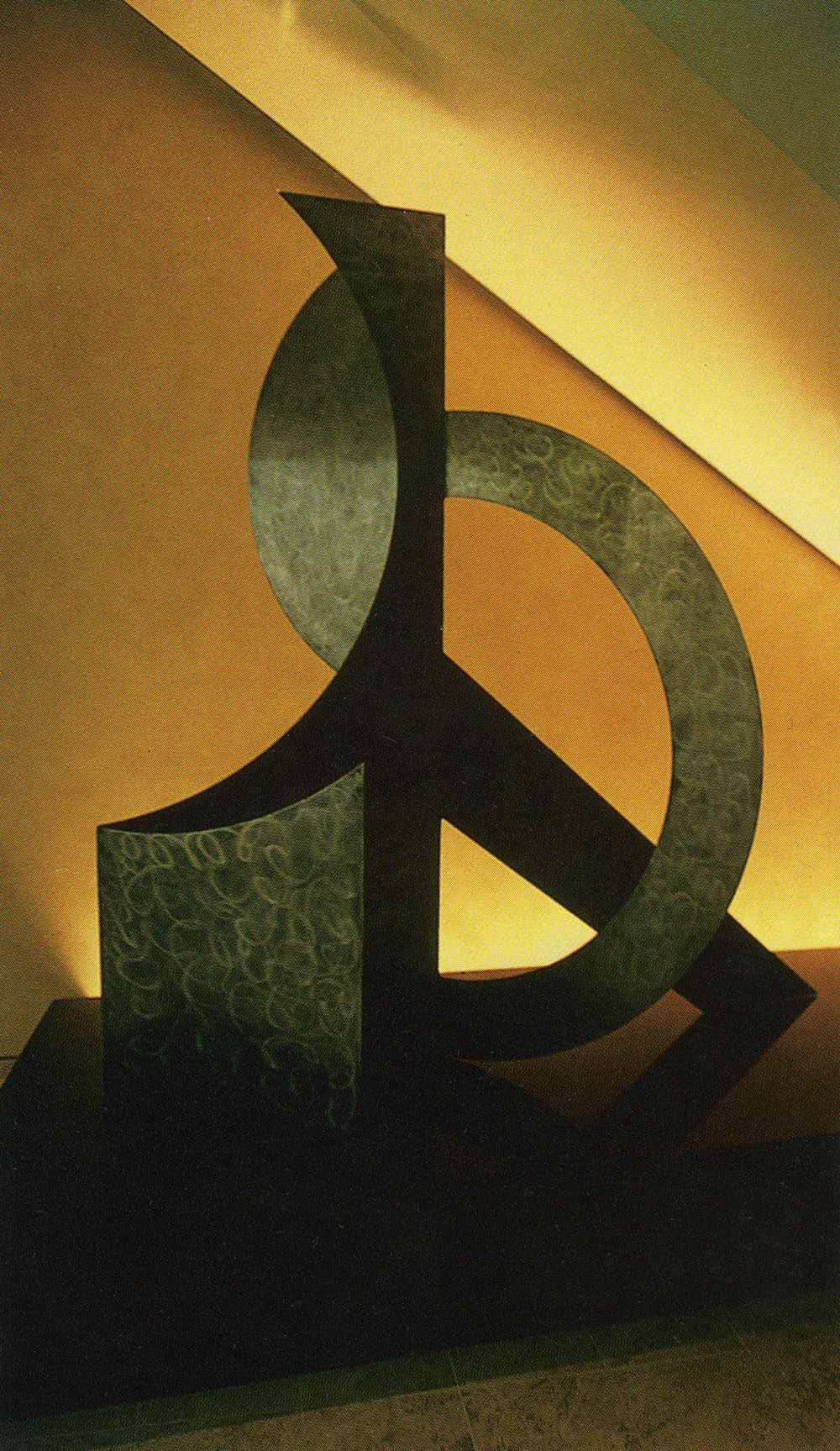Law Office, Century City, California; 1997.  S.M.XII.  7' x 6.5' x 4.5'