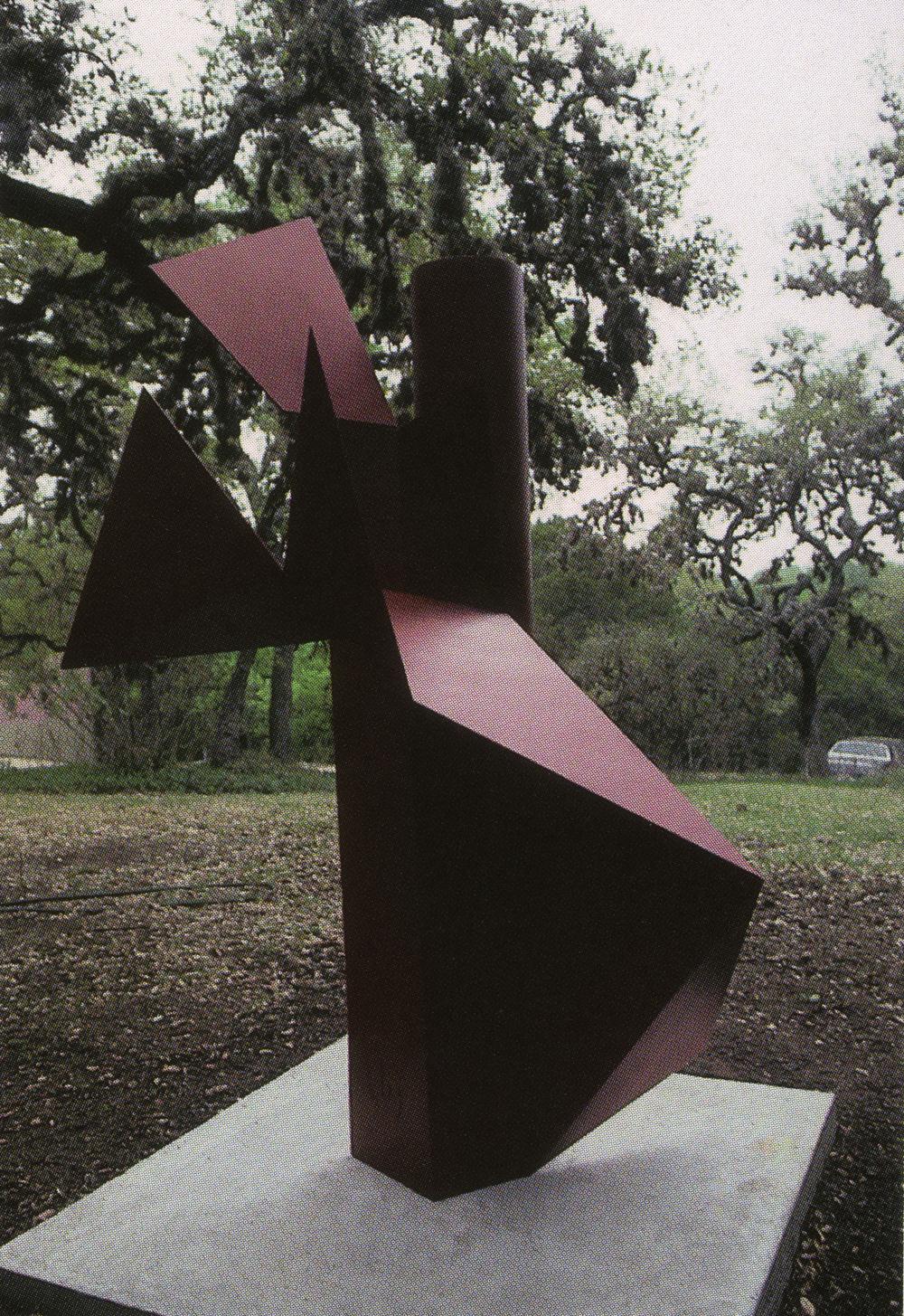 Austin Art Museum, Austin, Texas; 1996.  Atlas III.  7' x 4' x 5'.