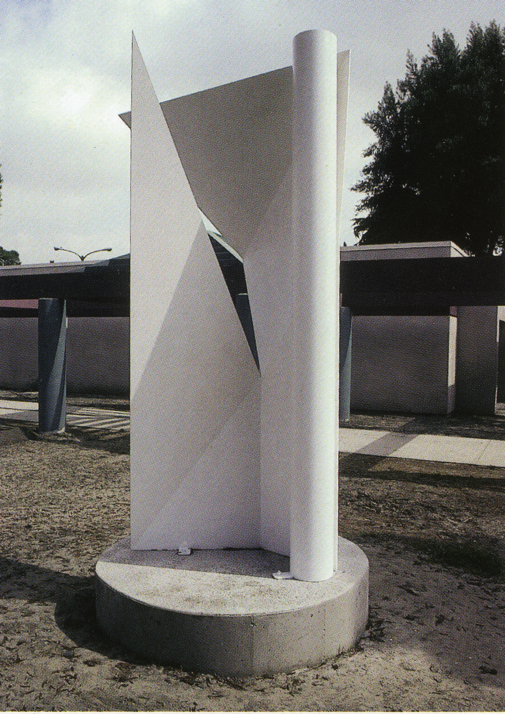 Downey Museum, Downey, California; 1993.  Atlas II.  10' x 5' x 5'