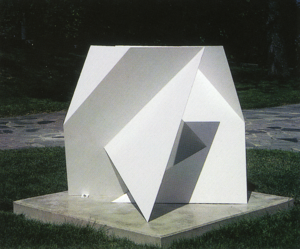 Mary Baldwin College, Staunton, Virginia; 2000.  S.J.C. IV.  5' x 4' x 3.5'