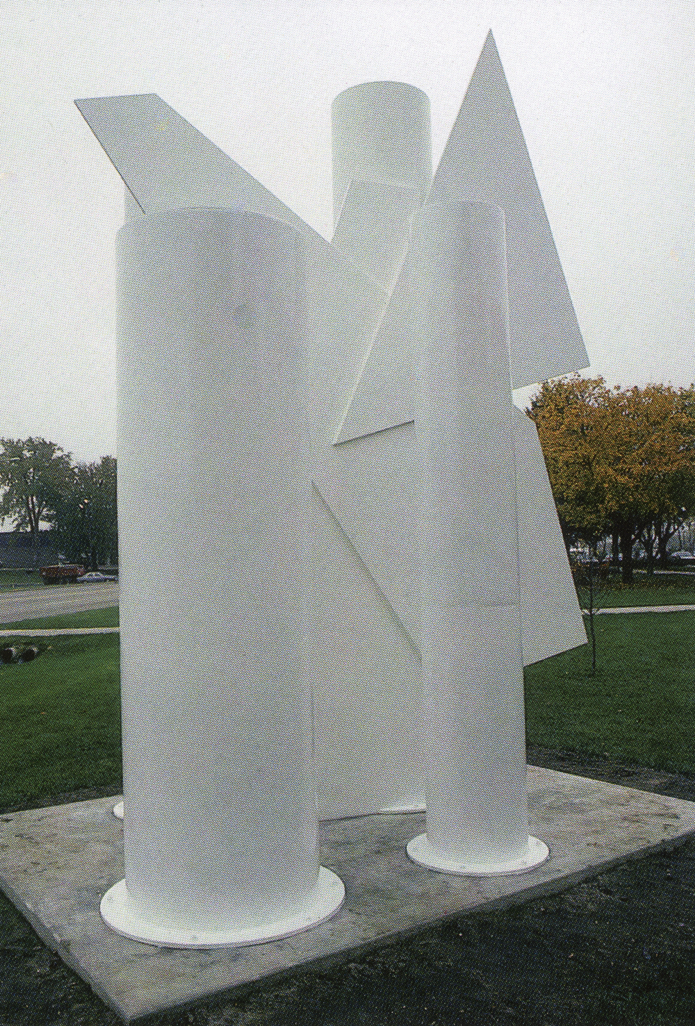 City of Stoughton, Wisconsin; 1993.  Melagro I.  16' x 12' x 9'.