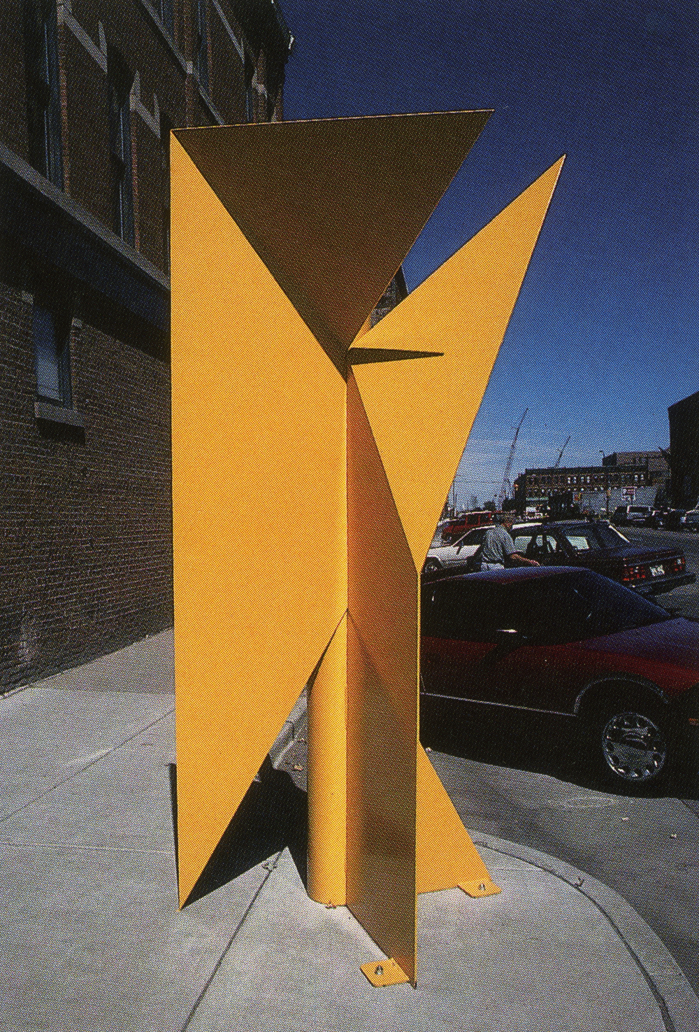Metropolitan State College, Denver, Colorado; 1993.  Atlas III.  10' x 5' x 4'