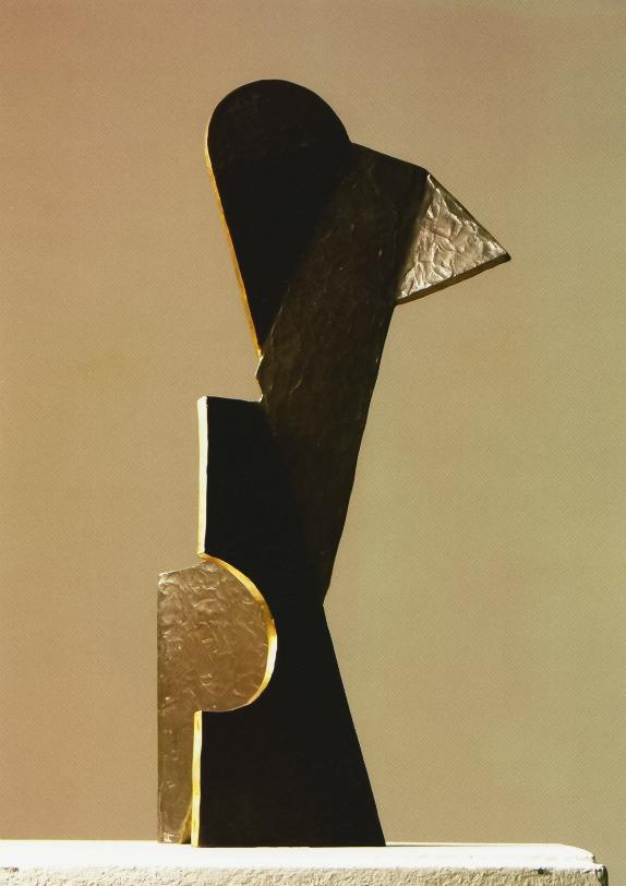 Holistic 67-C, 1980.  Bronze.  48 x 24 x 19 cm