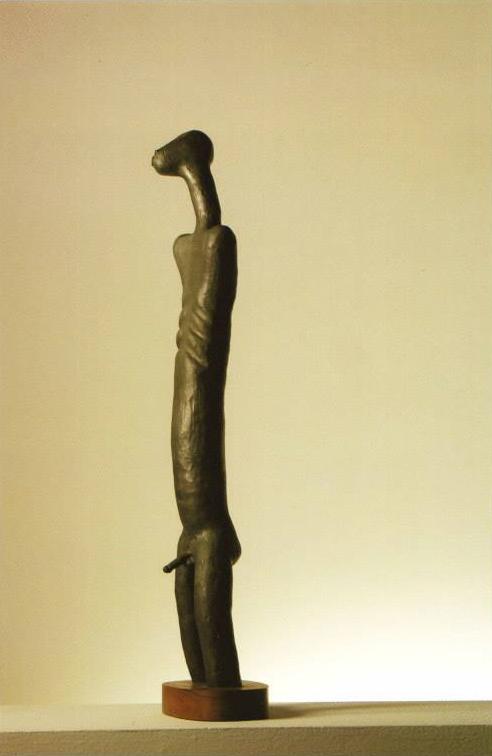 Afro, 1970.  Bronze.  89 x 15 x 24 cm