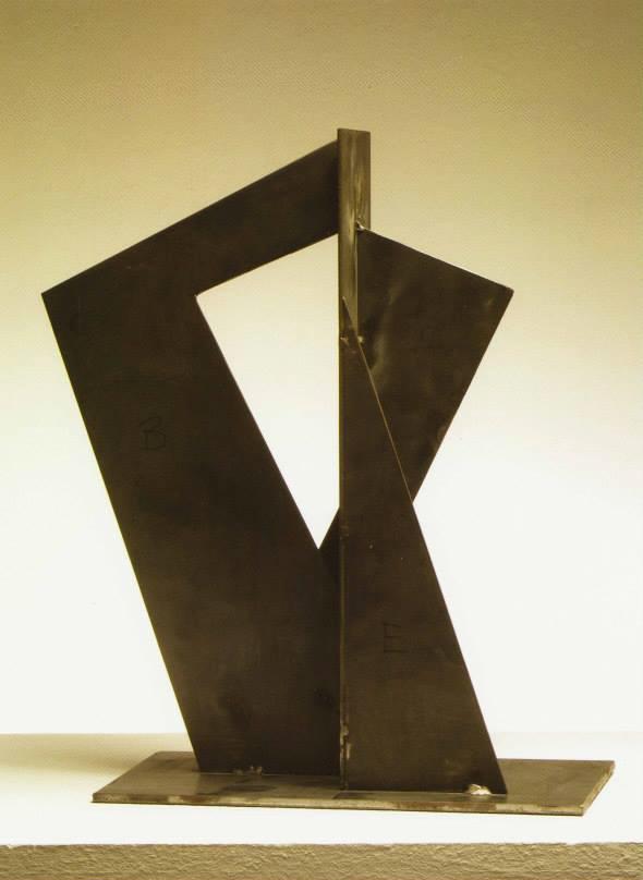 Para ti (maqueta), 2005. Acer. 400 x 300 x 100 cm