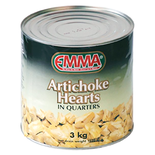 ARTICHOKES HEARTS IN QUARTERS