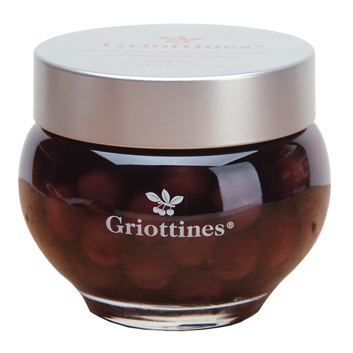 GRIOTTINES IN BRANDY - 350ml
