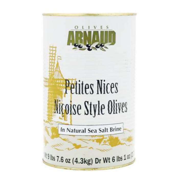 NiÇOISE STYLE OLIVES, 4.25L