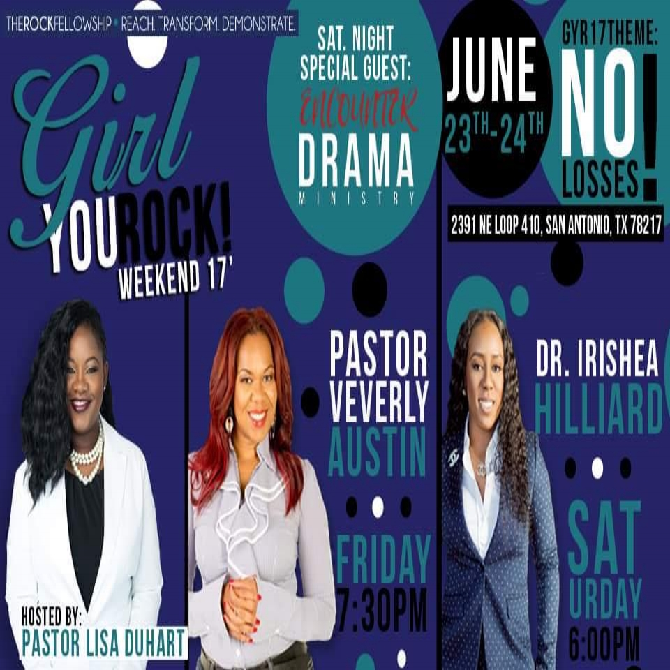 Girl You Rock Weekend - San Antonio TX