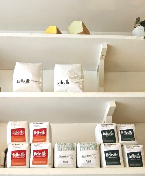 Stock de Café Belleville chez Fondation Café