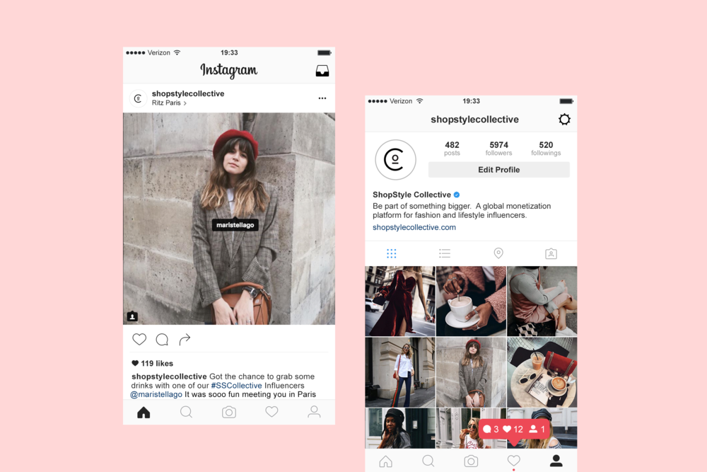 2a9d7c79f1f Instagram grid for ShopStyle Collective