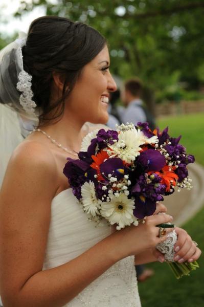 Wedding Hairstylist Bride and Bouquet.jpg