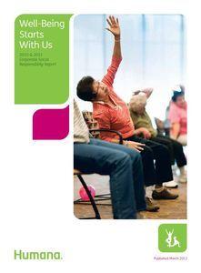 Corporate Social Responsibility CSR Report