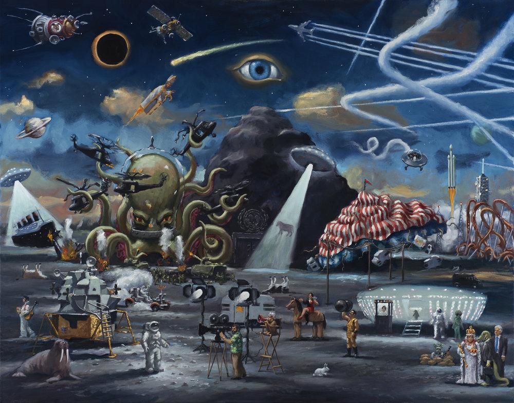 American Dream, oil on canvas, 120 x 160cm